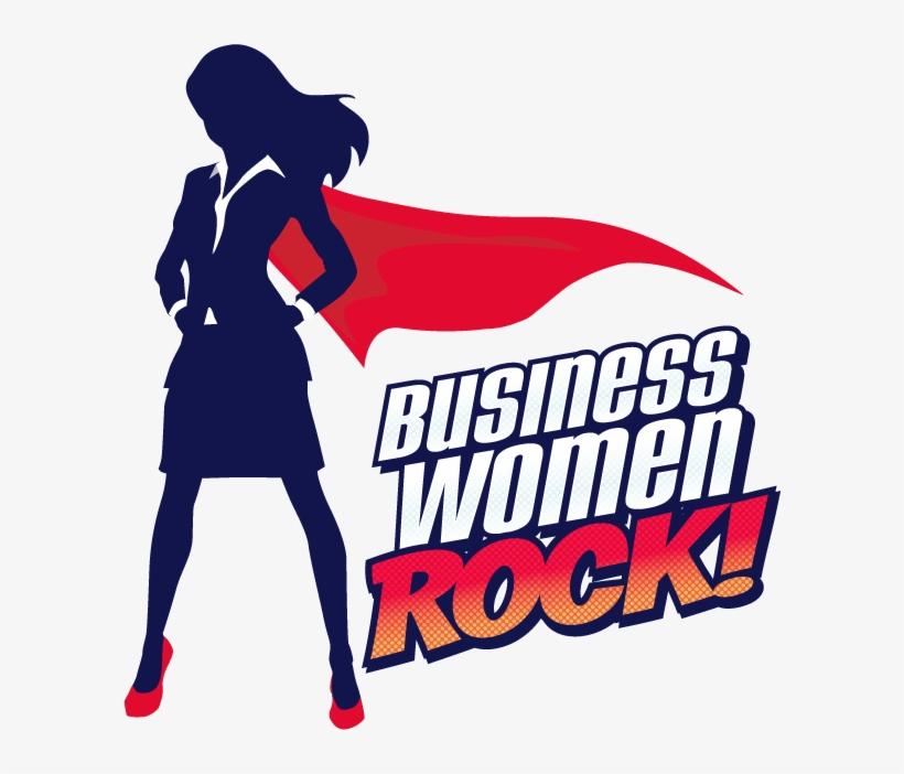 Picture Free Businesswoman Clipart Woman Entrepreneur - Business Women Rock, transparent png #1233559