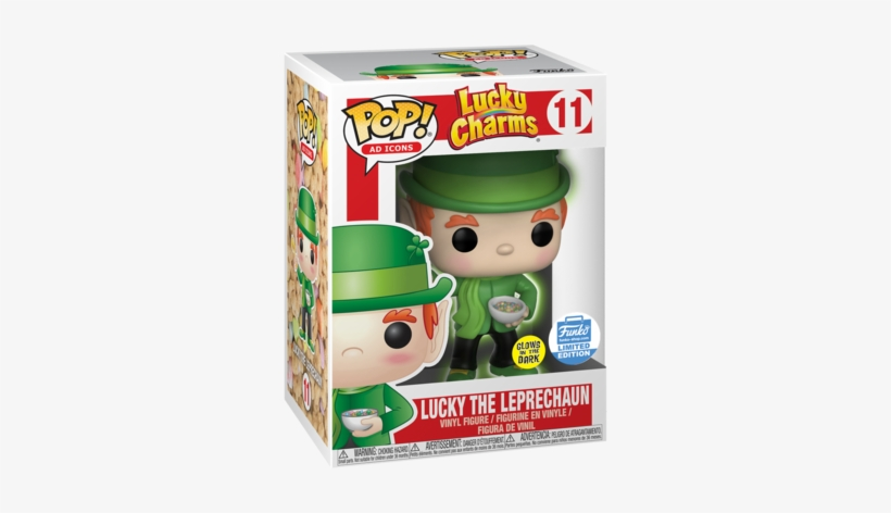Funko Pop Ad Icons Lucky Charms - Funko Pop Ad Icon, transparent png #1234590
