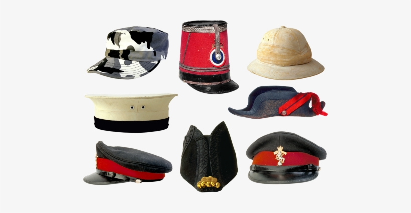 Military Uniforms,peaked Style - Kids Dress Up Hats, transparent png #1235454