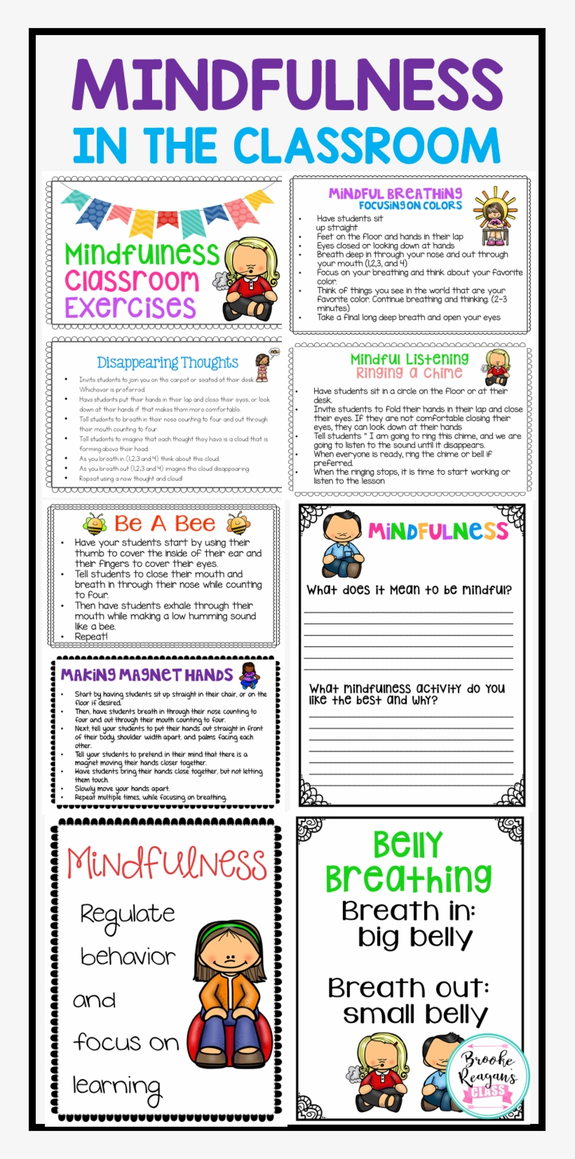 Are You Needing Something To Help Your Classroom Management - Mindfulness In Classroom, transparent png #1243063