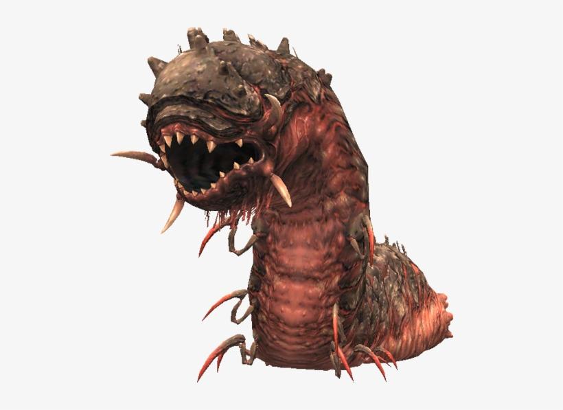 Transparent Worm Fantasy - Final Fantasy Sandworm, transparent png #1243813