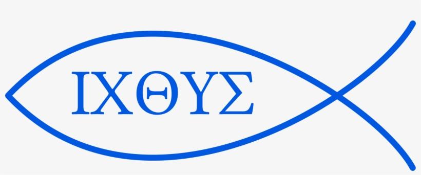 Ichthys Christianity Symbol Fish Acronym - Simbolos Do Cristianismo Peixe Significado, transparent png #1244325