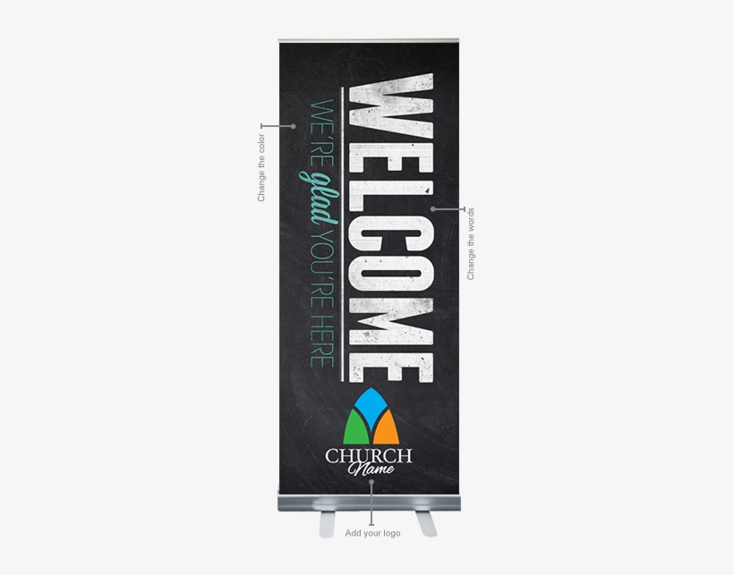 Feature Rollup - Welcome Roll Up Banner, transparent png #1244490