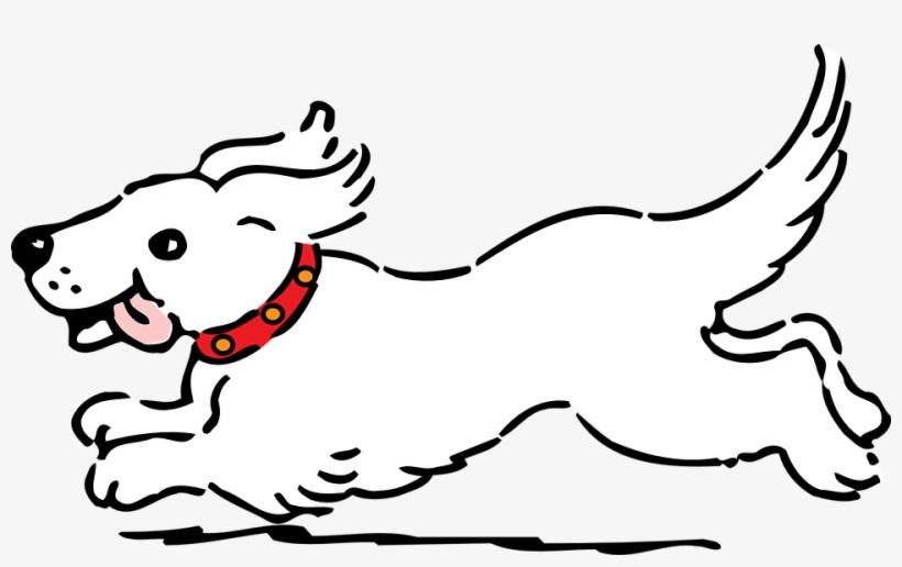 Cartoon Dog Clipart Black And White Cartoon Media