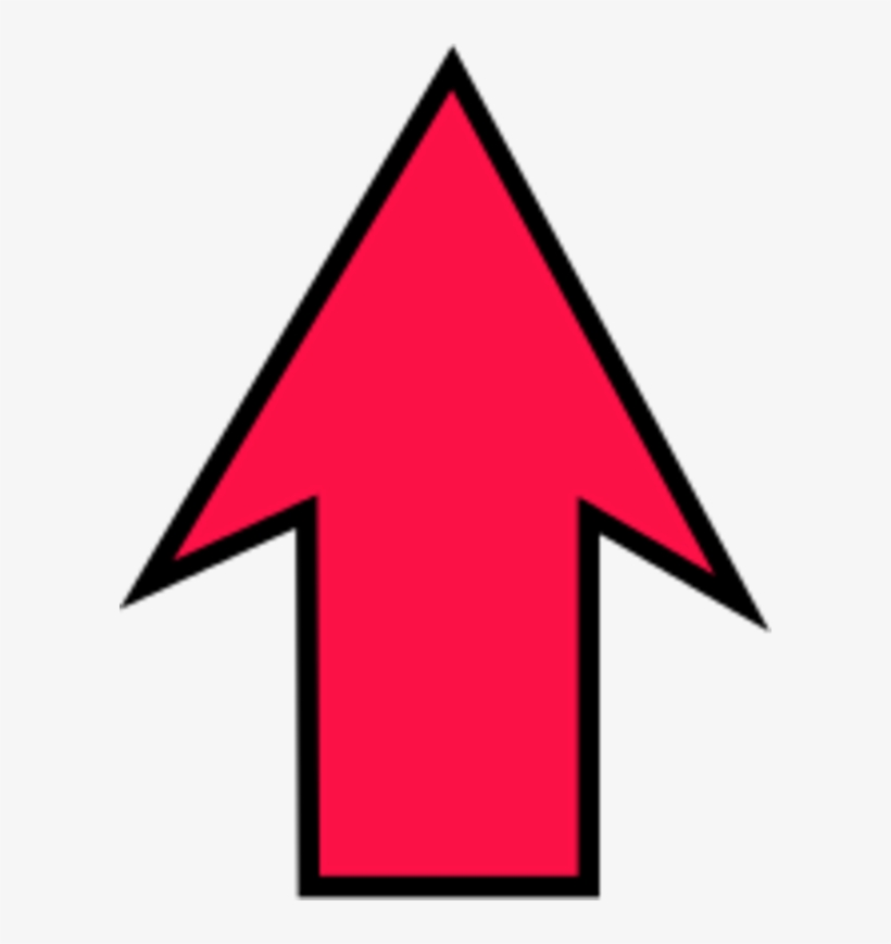 Arrow Pointing Up Upwards Clipart - Arrow Pointing Up Clipart, transparent png #1246036