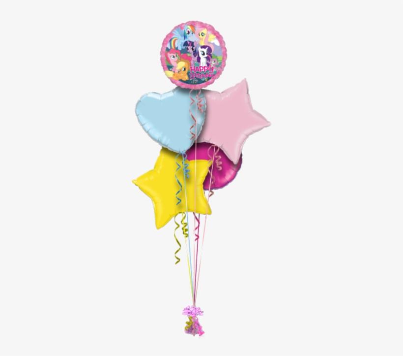 My Little Pony Birthday Balloon - My Little Pony Happy Birthday 18 Mylar Foil Balloon, transparent png #1247032