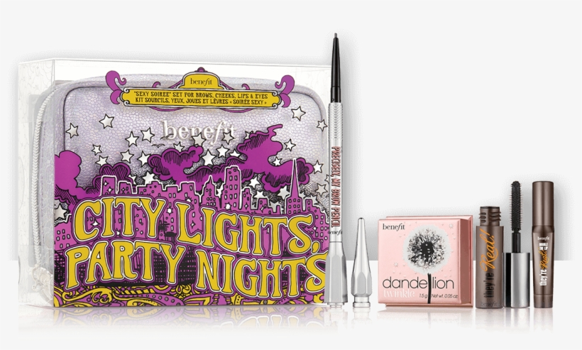 City Lights Party Nights - Benefit City Lights Party Nights, transparent png #1247401
