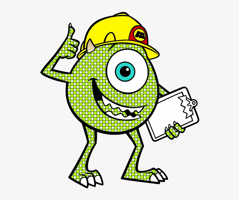 I've Attached An Xcf File Of Mike I Just Did And You - Monsters Inc Colouring Pages, transparent png #1248120