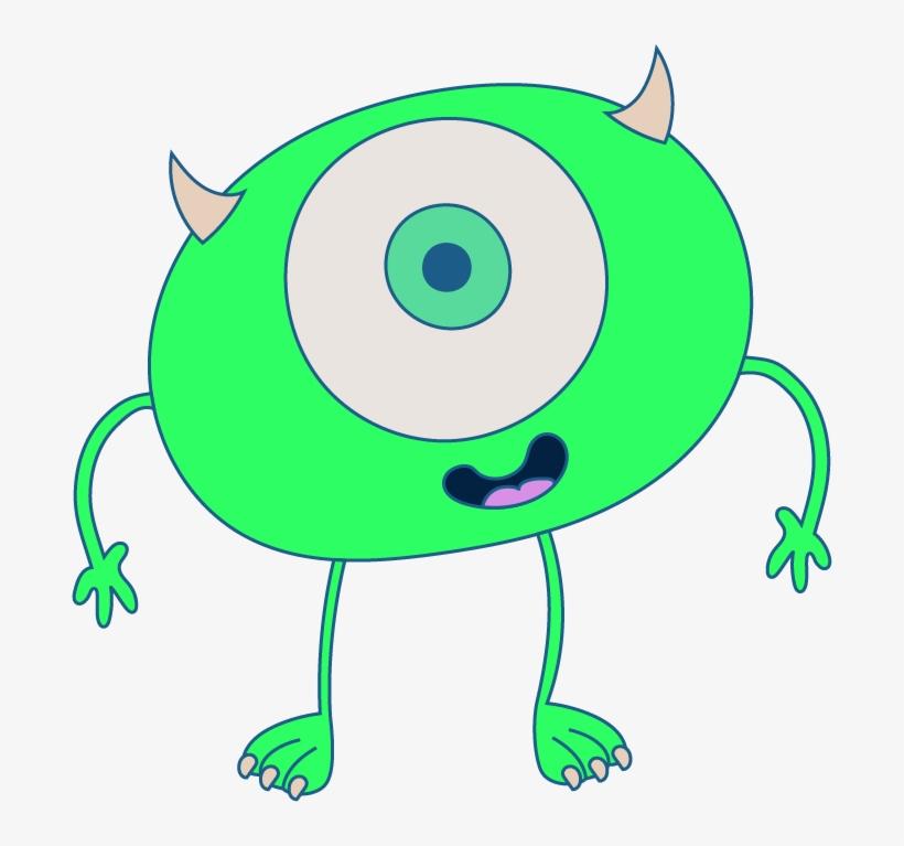 Mike Wazowski Disney Pixar Monsters Inc - Monsters, Inc., transparent png #1248162