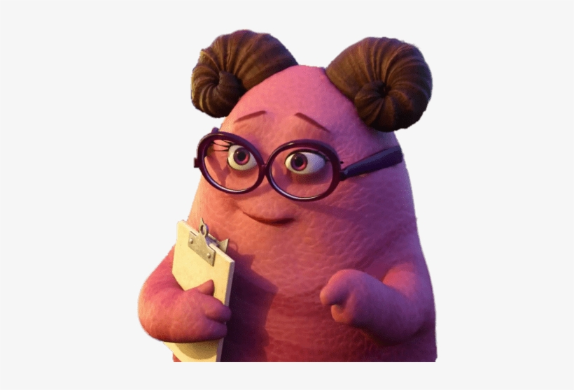 Download Monsters University Mrs Squibbles Squishy Free Transparent Png Download Pngkey