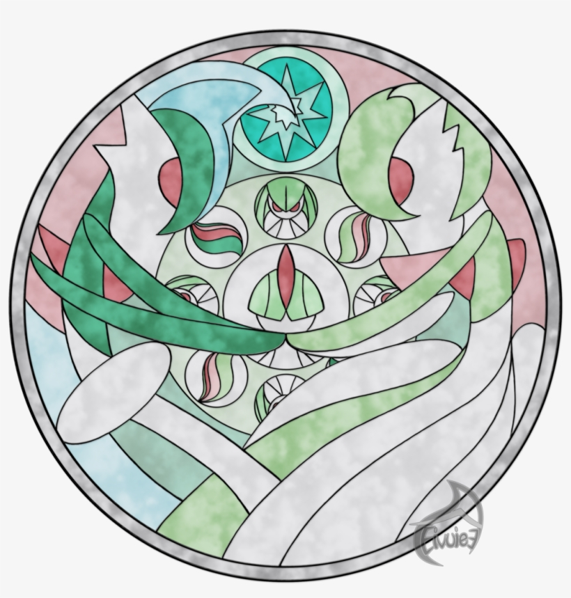 Pokémon Black 2 And White 2 Pokémon Ruby And Sapphire - Poke Mon Stained Glass, transparent png #1251418