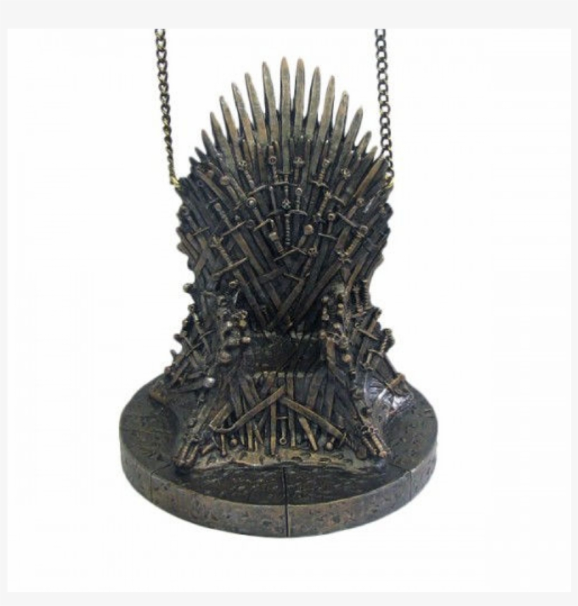 Game Of Thrones Iron Throne Ornament - Game Of Thrones Throne, transparent png #1252061