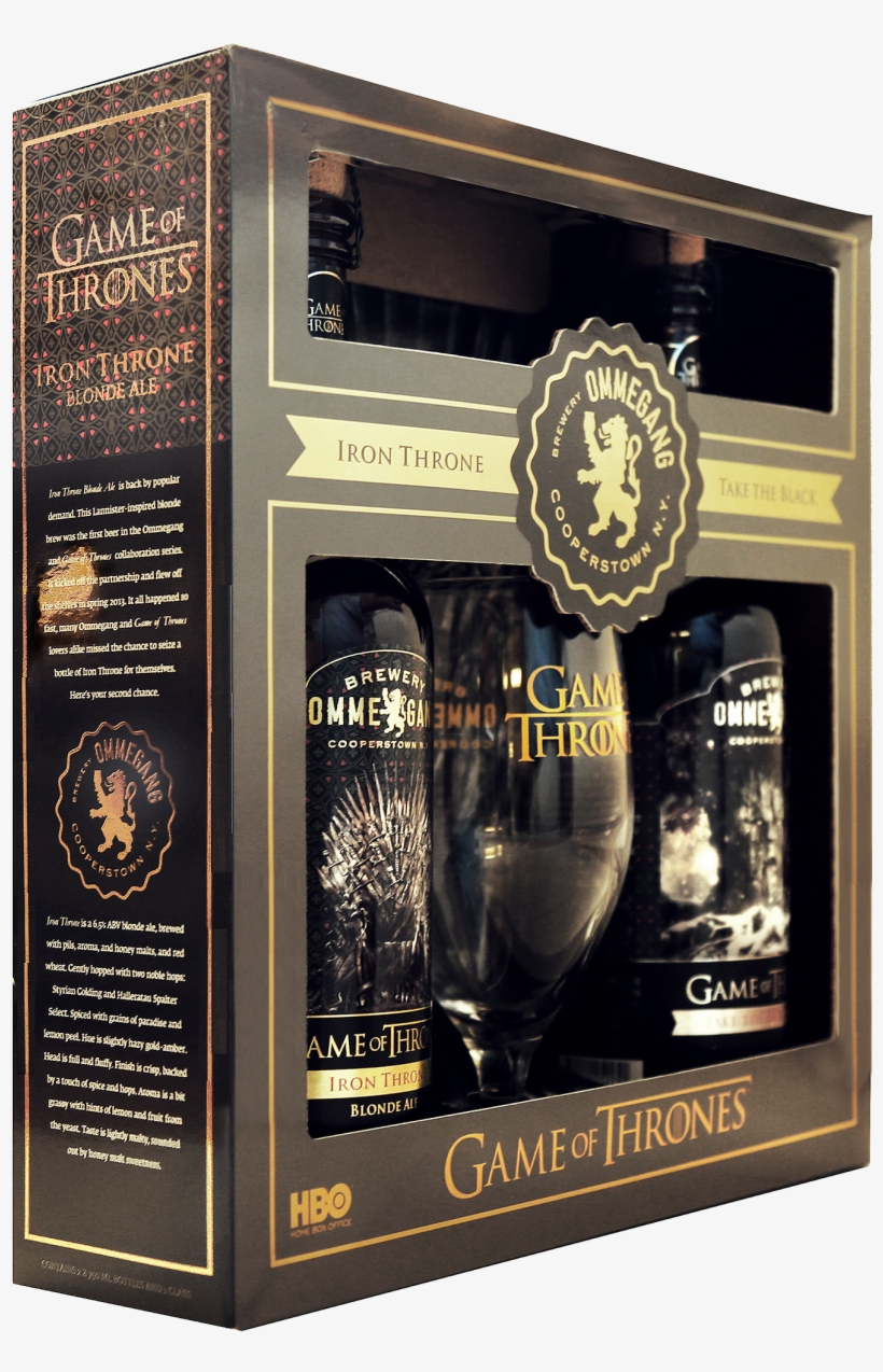 Brewery Ommegang Re-releases Iron Throne Blonde Ale - Game Of Thrones Gift, transparent png #1252231