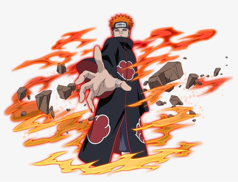 Pain Naruto Png Aikawaiichan Pain Free Transparent Png Download Pngkey