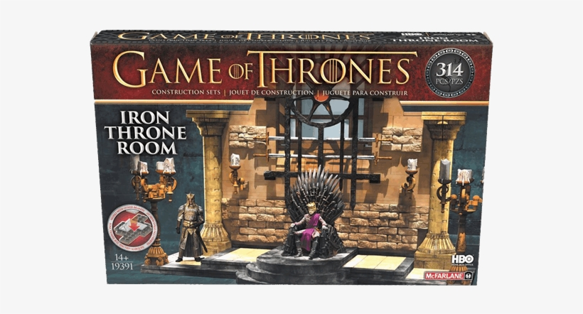 Game Of Thrones - Construction Set Iron Throne Room, transparent png #1252639