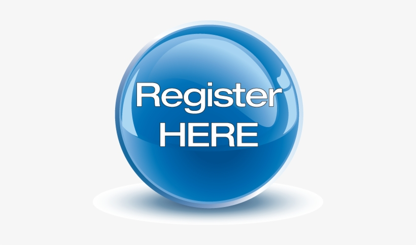 Register Here Button, transparent png #1252837