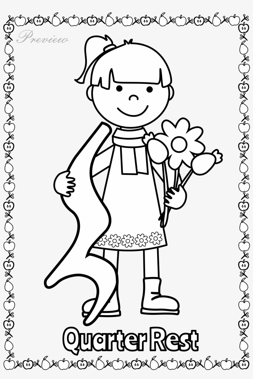 Let Your Kids Decorate Your Classroom With These Music - Fall Music Class Coloring, transparent png #1253202