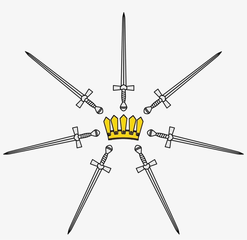 The Kingsguard, Also Known Poetically As The White - Game Of Thrones Kingsguard Sigil, transparent png #1253360