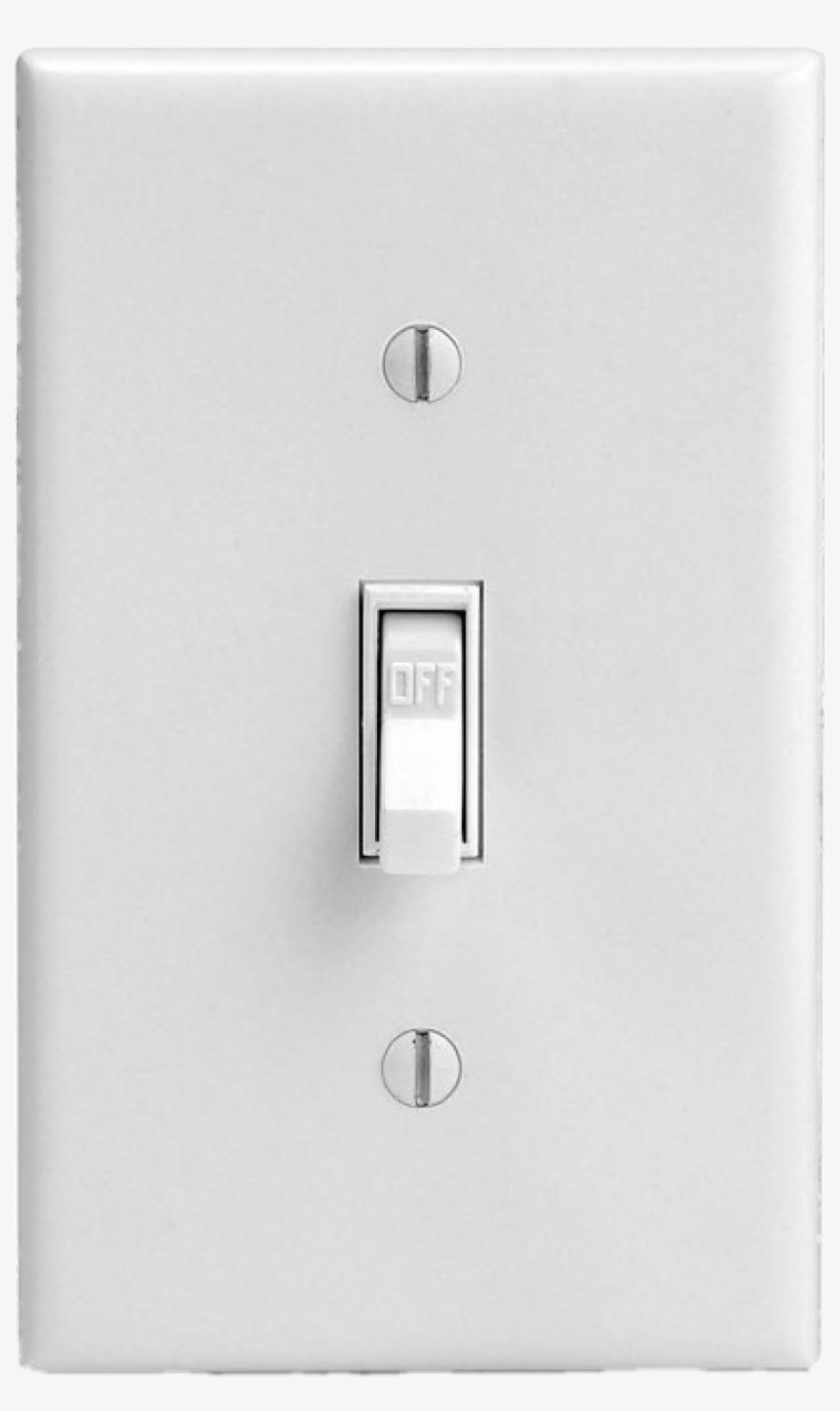 Download - Wheeler3designs Lumos Nox Decal Only Light Switch Decal, transparent png #1255888