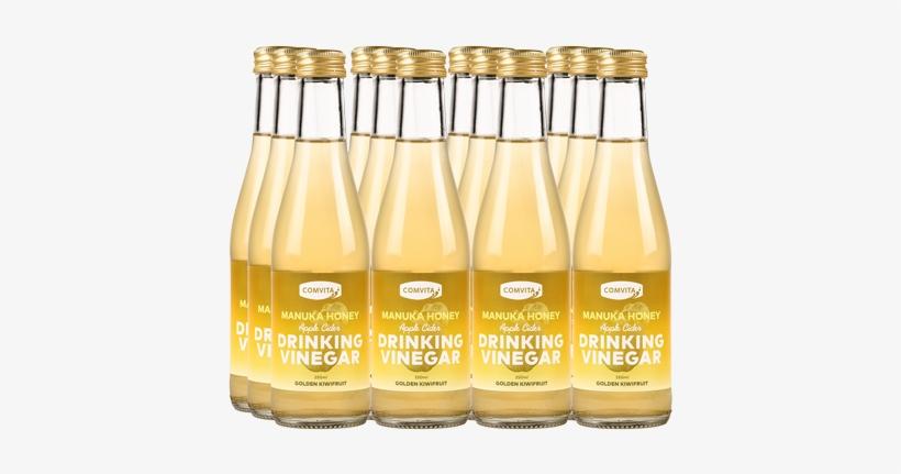 Apple Cider Drinking Vinegar 12 Pack - Golden Kiwifruit, transparent png #1256940