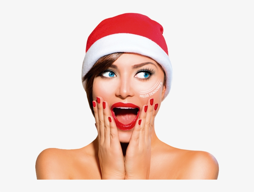 Mujer-navidad - Book Your Holiday Appointment, transparent png #1257678