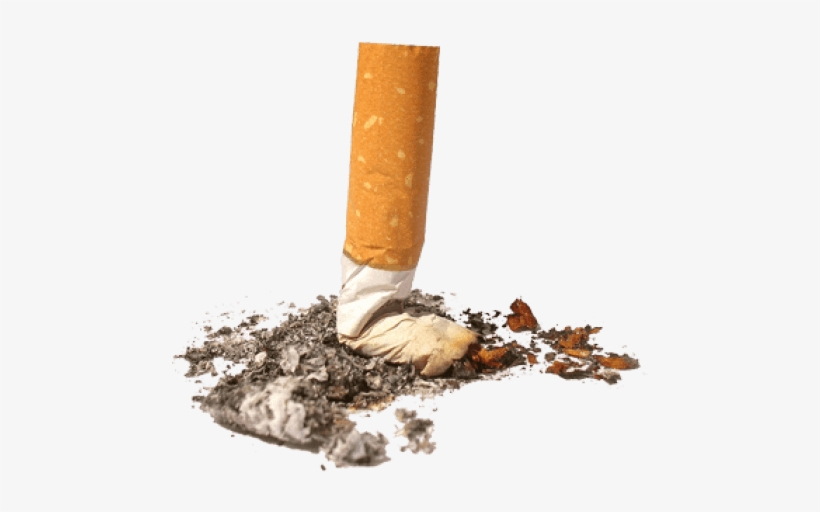 Lit Cigar Png Cigarette Png Stop Smoking - Cigarette Butts Litter, transparent png #1258332