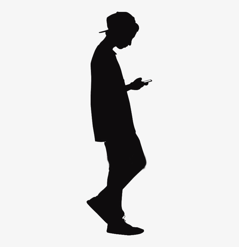 Teenager - Silhouette Of Teenage Boy - Free Transparent ...