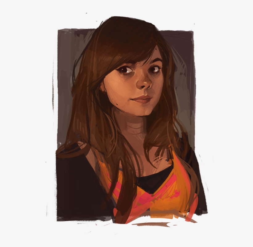 Lois Van Baarle And Her Magic Chalky Brush The Art Of Loish A Look Behind The Scenes Free Transparent Png Download Pngkey