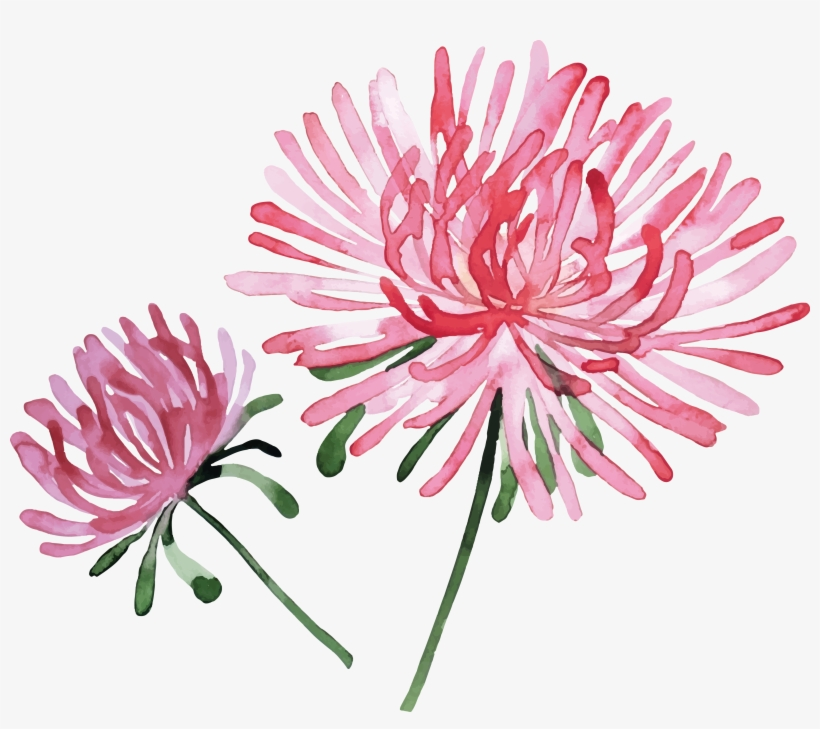 Svg Free Stock Watercolor Painting Flower Stock Photography - Flower Painting Stock Png, transparent png #1266583