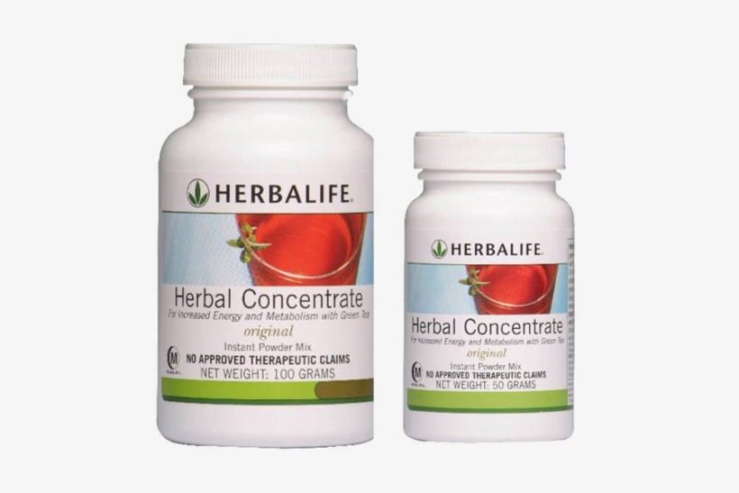 Product Image - Herbalife Herbal Tea Concentrate, Lemon - 3.53 Oz Bottle, transparent png #1267217
