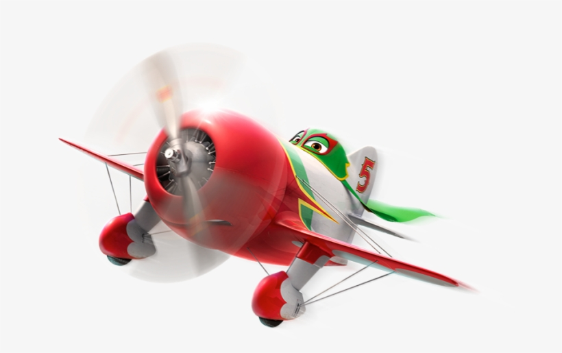Elchupacabra2-planes - Zvezda Disney Planes 1:100 Scale Model Kit: El Chupacabra, transparent png #1268327