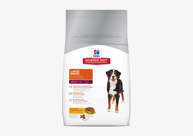 Sd Adult Large Breed Dog Food Dry Productshot 500 - Hill's Science Diet Large Breed, transparent png #1270112
