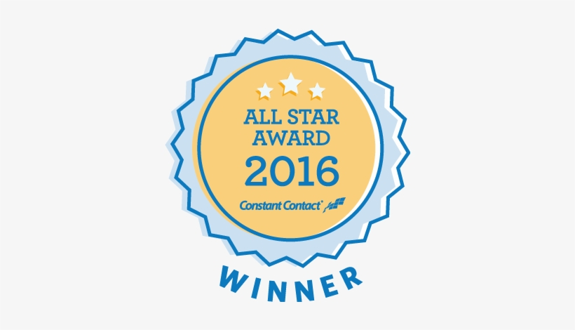 Avon, Connecticut Celebrating Over 50 Years As - Constant Contact All Star Award 2016, transparent png #1270693