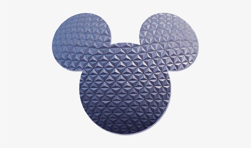 Blue Epcot Mickey Ears - Disney World, Epcot, transparent png #1272051