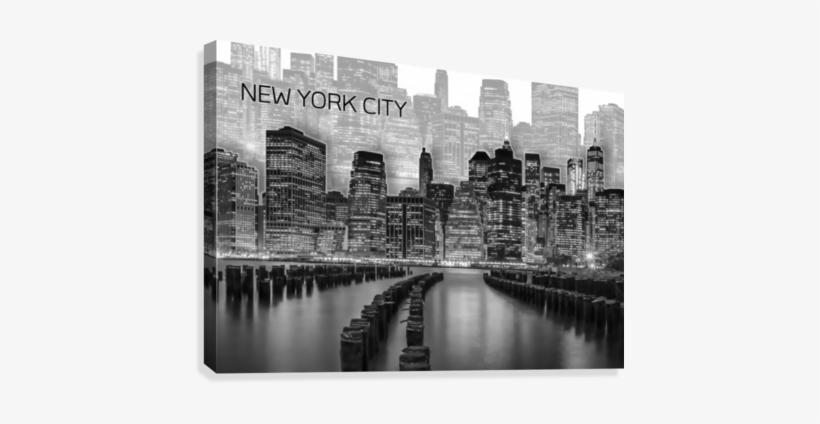 Manhattan Skyline - Manhattan Graphic Art, transparent png #1272451
