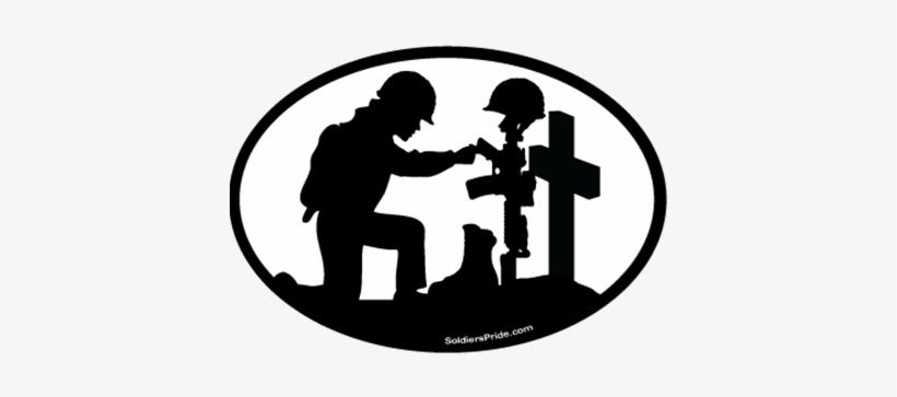 Kneeling Soldier Png - Soldier Symbols, transparent png #1273939