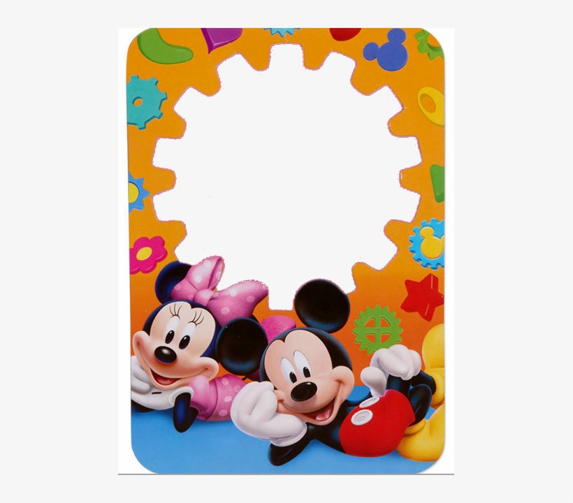Marcos Para Photoshop Y Algo Mas - Mickey Mouse Birthday Frames, transparent png #1274098