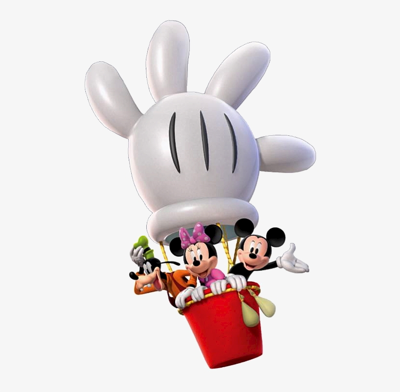 Mickey Mouse Clubhouse Clipart Png Download - Mickey Mouse Clubhouse Hot Air Balloon, transparent png #1274237