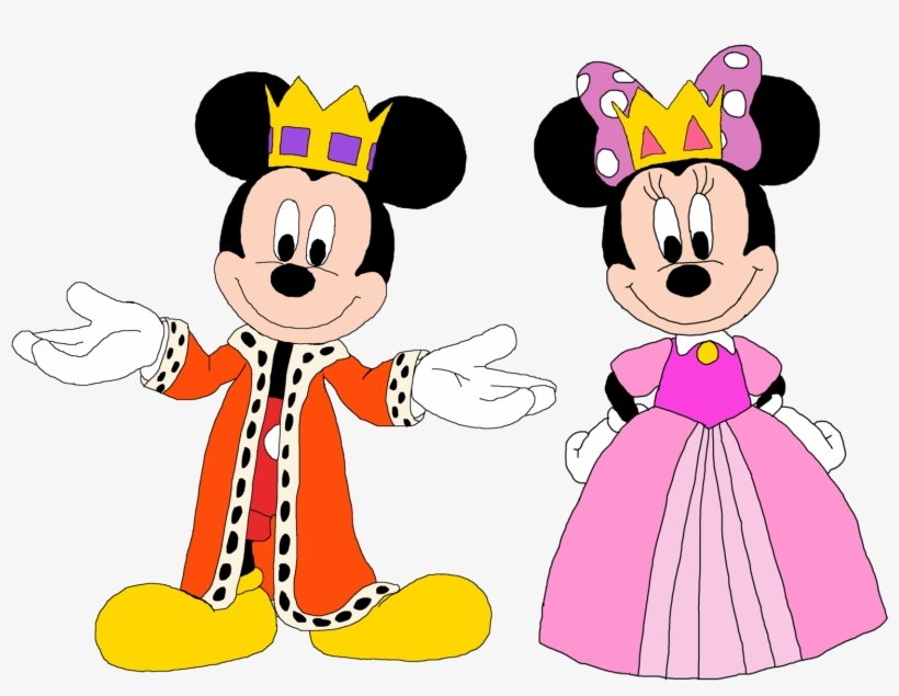 Mickey Mouse Clubhouse Princess Minnie Rella - Mickey And Minnie Mouse Princess, transparent png #1274282