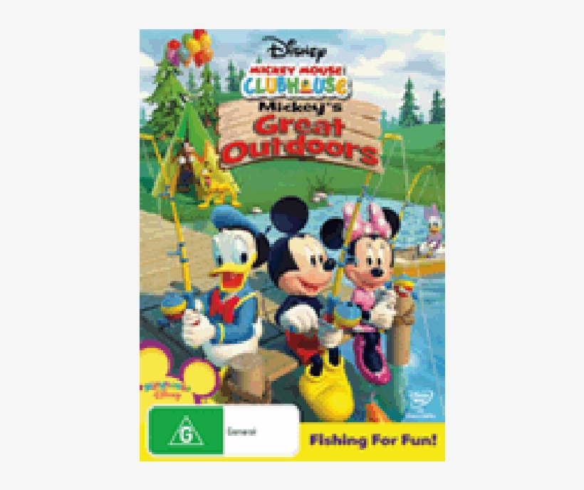 Mickey Mouse Clubhouse - Disney Mickey Mouse Clubhouse: Mickey's Great Outdoors, transparent png #1274977