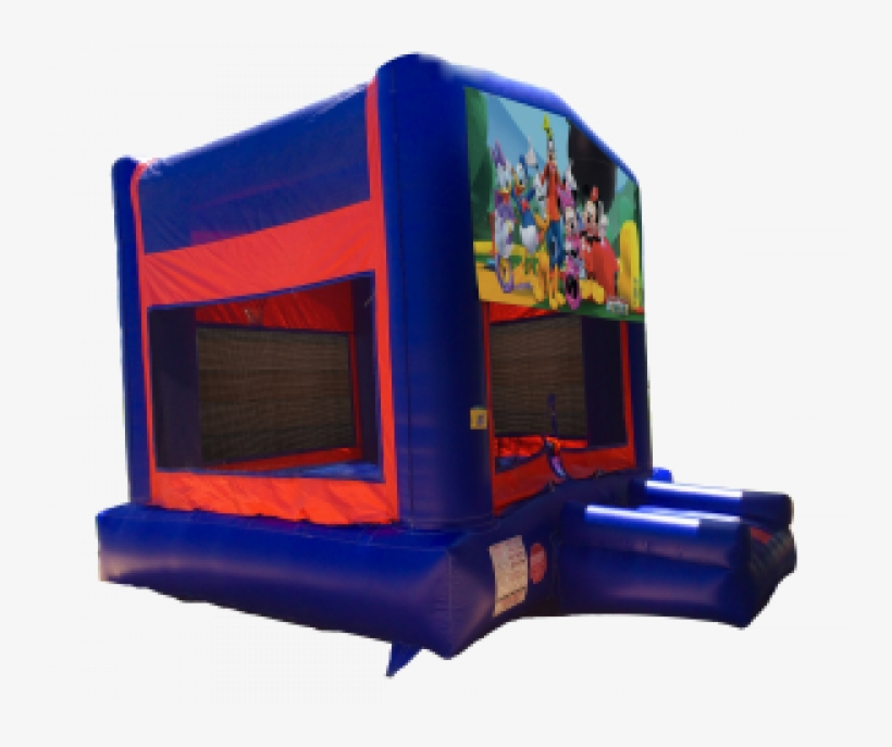 Mickey Mouse Clubhouse Red/blue/yellow Bounce House - Pj Masks Bounce House, transparent png #1275027