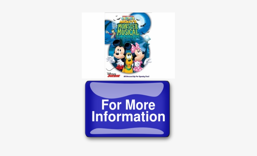 Mickey Mouse Clubhouse Mickeys Monster Musical Introducing - Disney Mickey Mouse Clubhouse: Mickey's Monster Musical, transparent png #1275074