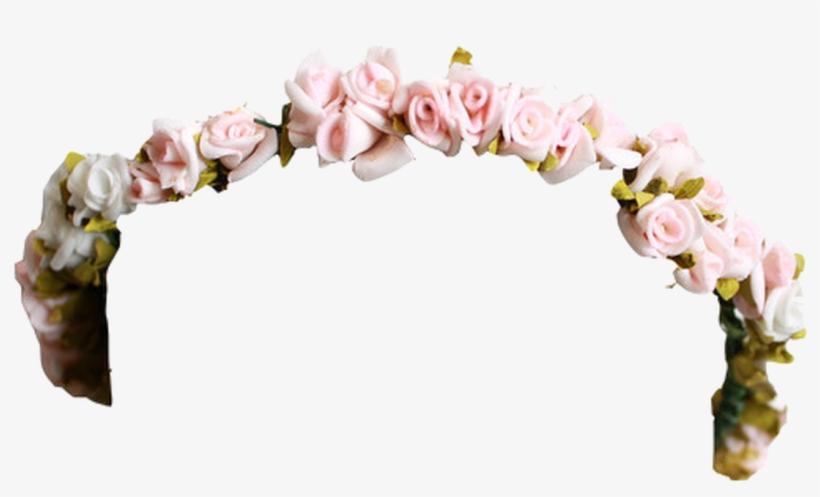 Flower Crown Tumblr Png - Flower Crown Png, transparent png #1276881