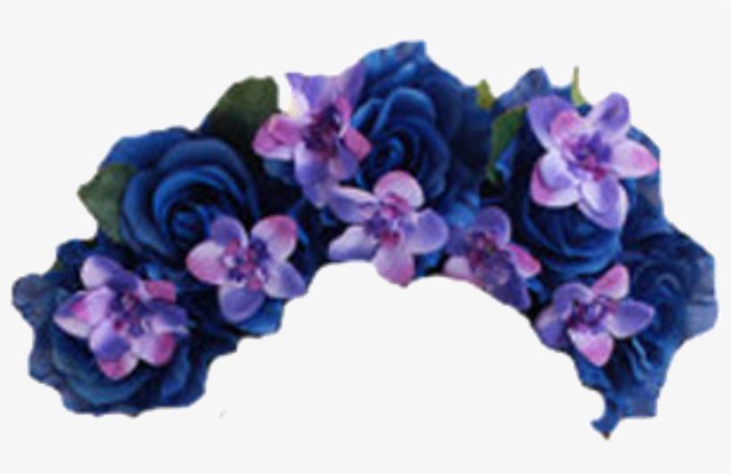 Flowers Flower Floral Crowns Crown Roses Rose - Flower Crown Transparent Background, transparent png #1276884