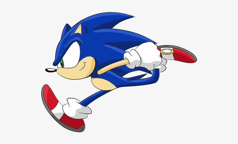 Transparent Snow Falling Gif Download Sonic The Hedgehog Running Free Transparent Png Download Pngkey