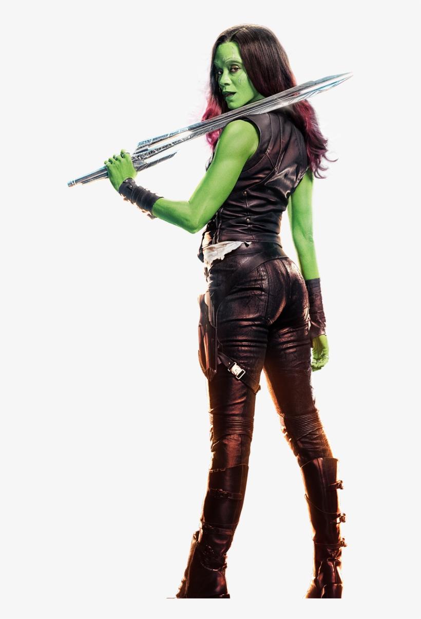 Vol 2 Gamora - Guardians Of The Galaxy Vol.1&2 Blu-ray, transparent png #1278433