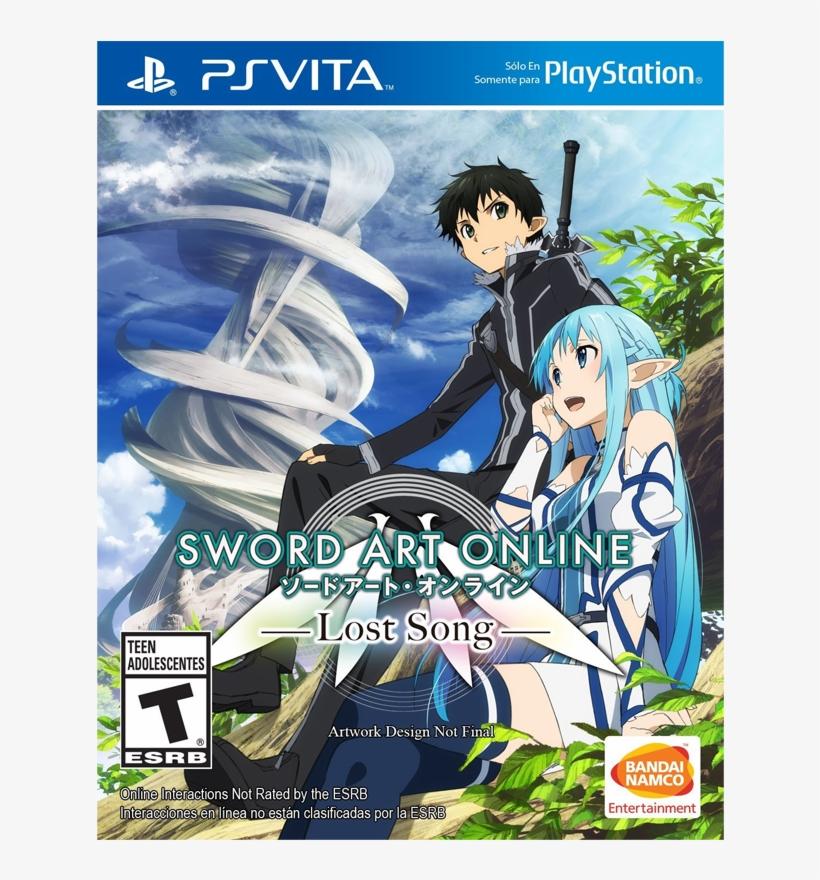 Ps Vita Sword Art Online - Sword Art Online Lost Song [playstation Vita Game], transparent png #1279052