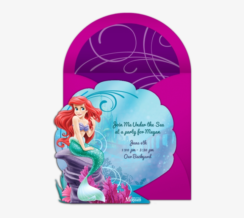 The Little Mermaid Online Invitation - Ariel The Little Mermaid Sparkle Tiaras (pack, transparent png #1279396