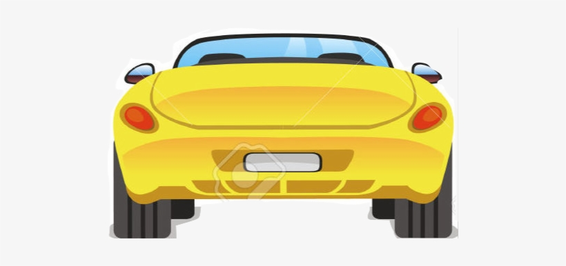Free Back Of Car Clipart Cartoon Car Back Png Free Transparent