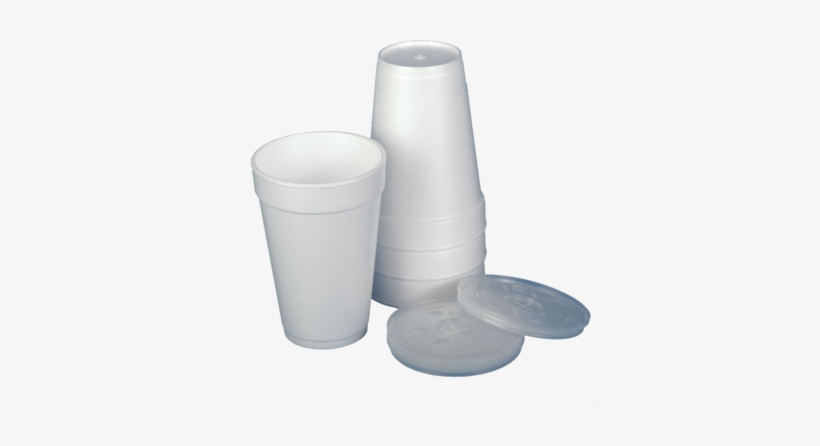 Styrofoam Cups With Lids - Styrofoam Cups, transparent png #1281517